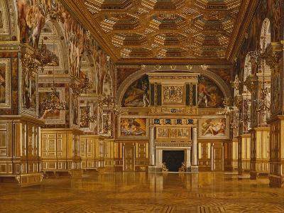 Fontainebleau-Joseph Theodore Hansen-Giclee Print