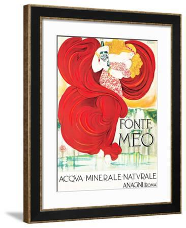 Fonte Meo / Acqva, Minerale / Anagni (Rome)-FRANCESCO NONNI-Framed Giclee Print