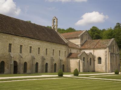 Fontenay Abbey, UNESCO World Heritage Site, Burgundy, France, Europe-Rolf Richardson-Photographic Print
