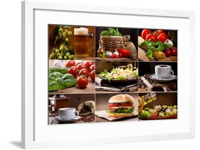 Food And Drink Collection-Nitr-Framed Art Print