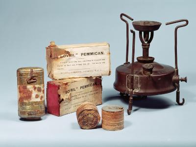Food Taken on Scott's Antarctic Expedition, 1901-4--Giclee Print