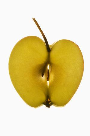 Slice of Apple with Stalk