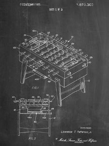 Foosball Table Patent