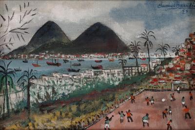 Football at Rio de Janeiro-English School-Giclee Print