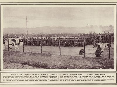 Football for Prisoners of War--Photographic Print