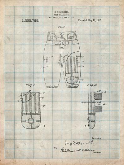 Football Pants Patent Print-Cole Borders-Art Print