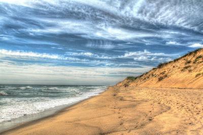 Footprints on Cape Cod Shore-Robert Goldwitz-Photographic Print