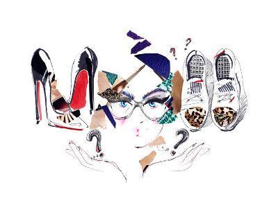 Footwear-okalinichenko-Art Print