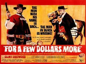 For a Few Dollars More, L-R, Clint Eastwood, Lee Van Cleef, 1965