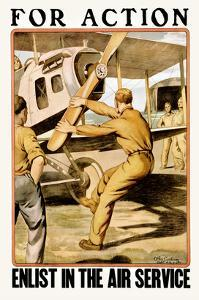 For Action Enlist in the Air Service