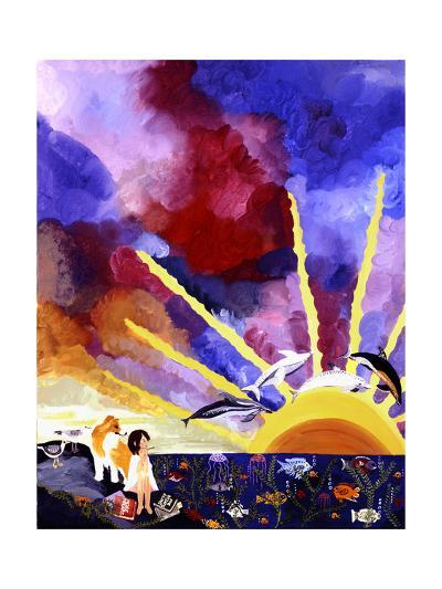 For Dreams Alone-Kristin Nelson-Premium Giclee Print