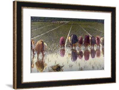 For Eighty Pennies, 1895-Angelo Morbelli-Framed Giclee Print