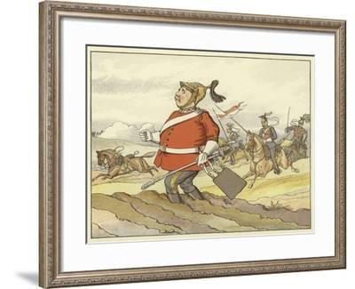 """""""For Fly He Could Not, If He Would Have Fled"""" Henry VI, Part I, Act IV, Scene 4--Framed Giclee Print"""