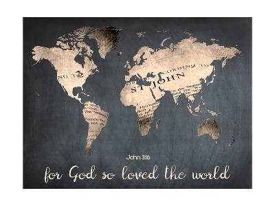 For God So Loved The World-Sheldon Lewis-Art Print