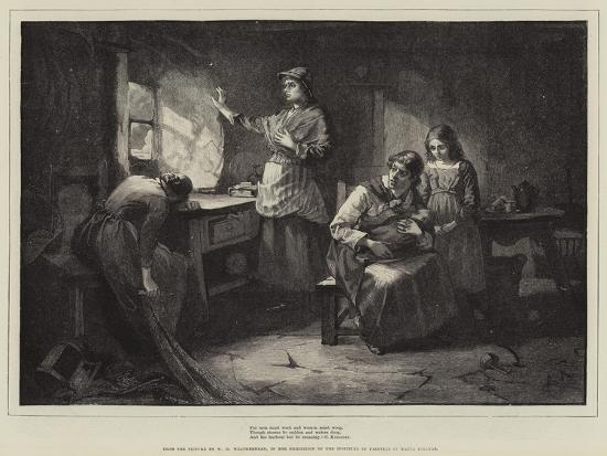 For Men Must Work and Women Must Weep-William Harris Weatherhead-Giclee Print