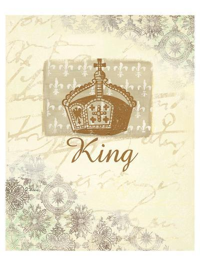 for my King?-Anna Flores-Art Print