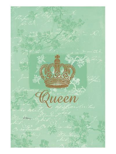 for my Queen?-Anna Flores-Art Print