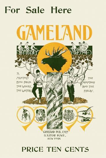 For Sale Here, Gameland--Art Print