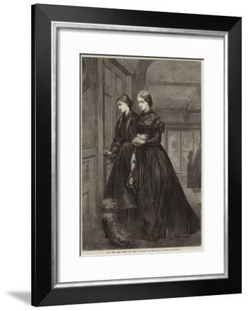 For the Last Time-Emily Mary Osborn-Framed Giclee Print