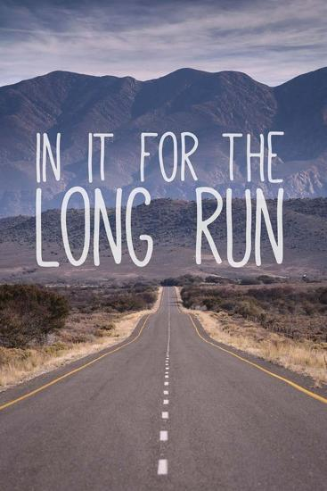 For The Long Run-Take Me Away-Art Print
