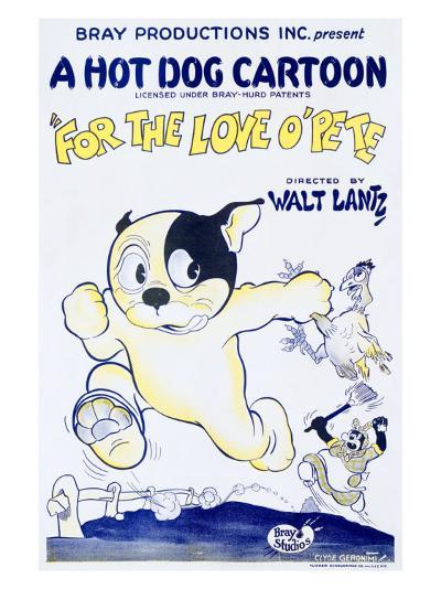 For the Love O'Pete, a Hot Dog Cartoon--Giclee Print
