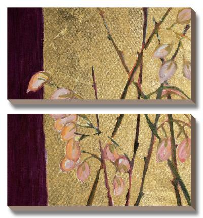 For the Love of Gold I-Natalia Morley Russell-Canvas Art Set
