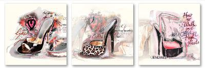 For the Love of Shoes-Michael Tarin-Art Print