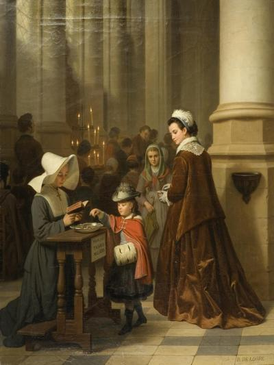 For the Sick Poor-Basile De Loose-Giclee Print
