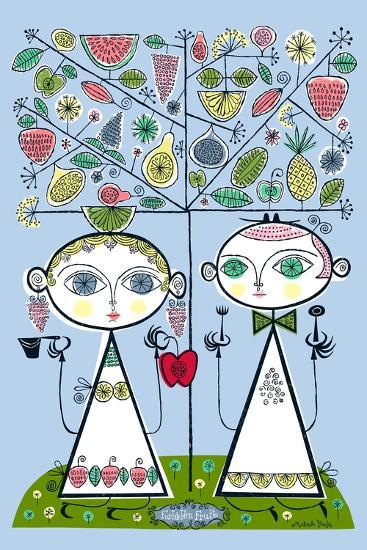 Forbidden Fruit-Melinda Beck-Art Print