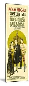 Forbidden Paradise, Pola Negri, Adolphe Menjou, Rod La Rocque, 1924