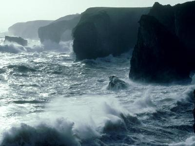 Force 8 Gale, Pembrokeshire-O'toole Peter-Photographic Print