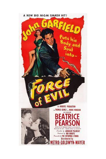 Force of Evil, John Garfield, Beatrice Pearson, 1948--Giclee Print