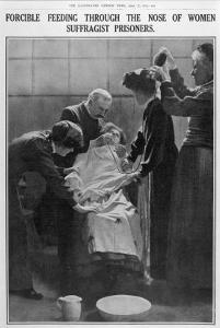Forcible Feeding Through the Nose of Women Suffragist Prisoners