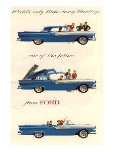 Ford 1957 Hideaway Hardtop