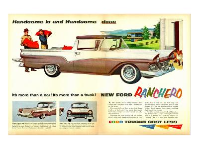 Ford 1957 Ranchero - Handsome--Art Print