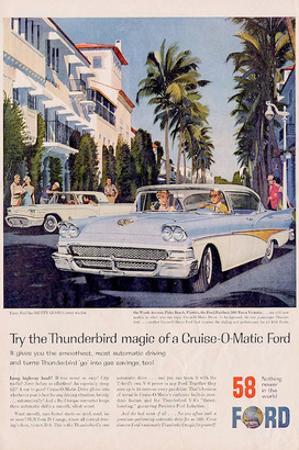 Ford 1958 Thunderbird Magic