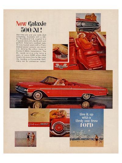 Ford 1962 Galaxie 500/SL--Art Print