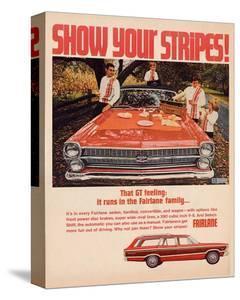 Ford 1967 Fairlane GT -Stripes