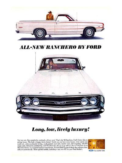Ford 1968 All-New Ranchero--Art Print