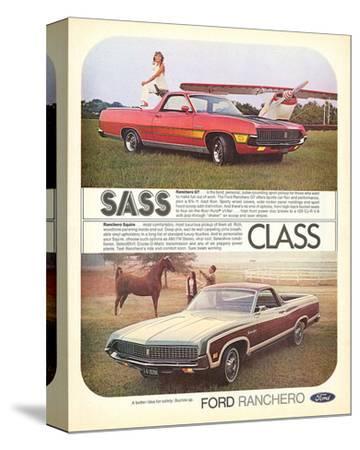 Ford 1971 Ranchero GT - Class