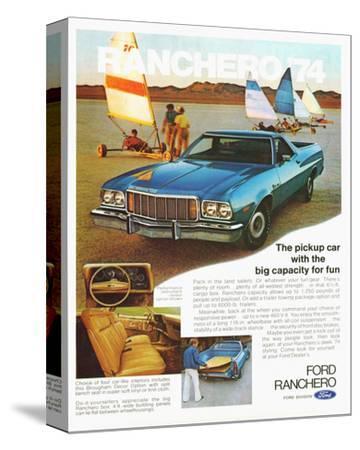 Ford 1974 Capacity Pickup Car