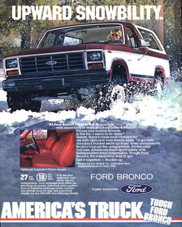 Ford 1983 Bronco Snowbility