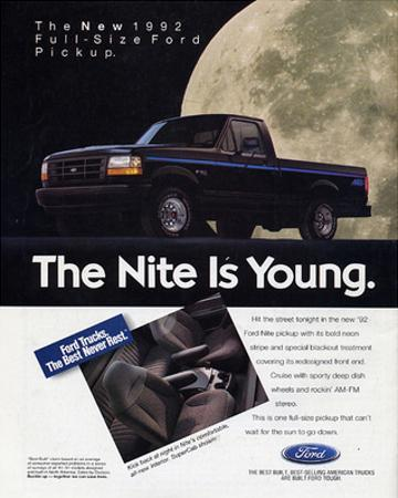 Ford 1992 Full-Size Pickup