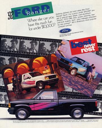 Ford 1992 Ranger - Never Rest