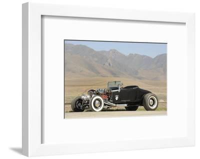 Ford Burning Desire Roadster 1927-Simon Clay-Framed Photographic Print