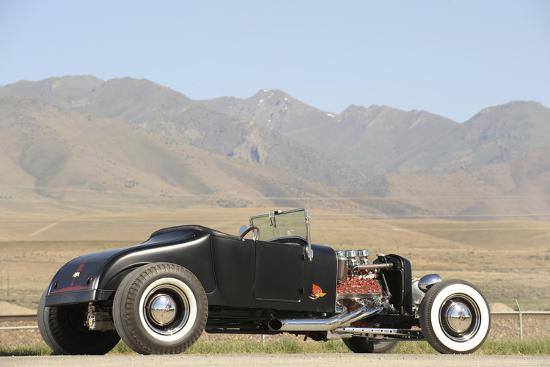 Ford Burning Desire Roadster 1927-Simon Clay-Photographic Print