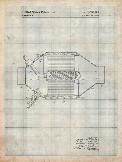 Ford Catalytic Converter-Cole Borders-Art Print