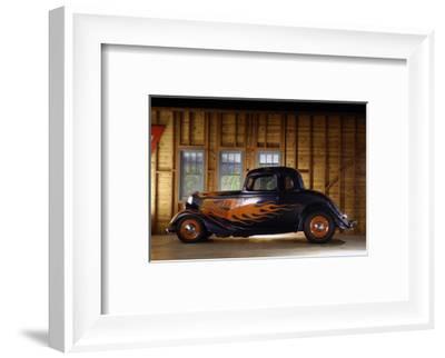Ford Custom 1934-Simon Clay-Framed Photographic Print