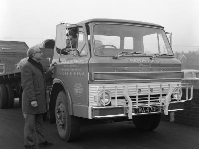 Ford D Series Lorry, 1967-Michael Walters-Photographic Print
