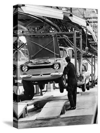 Ford Escort Production Line, 1973